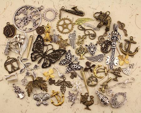 Декоративные элементы для чокеров