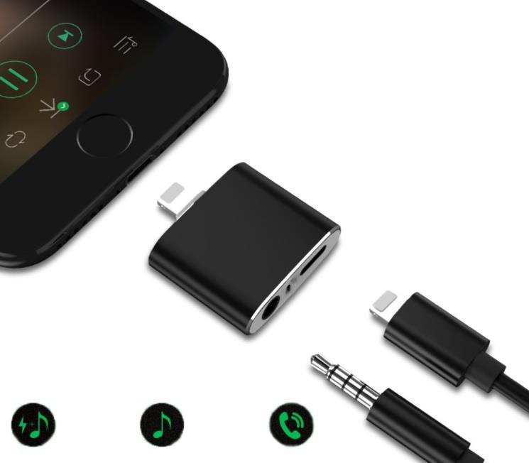 Переходник на наушники Floveme для iPhone 7