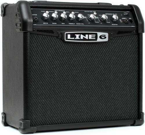 Обзор моделирующего комбика Line 6 Spider IV 15 - гитарный комбо с гитарным процессором