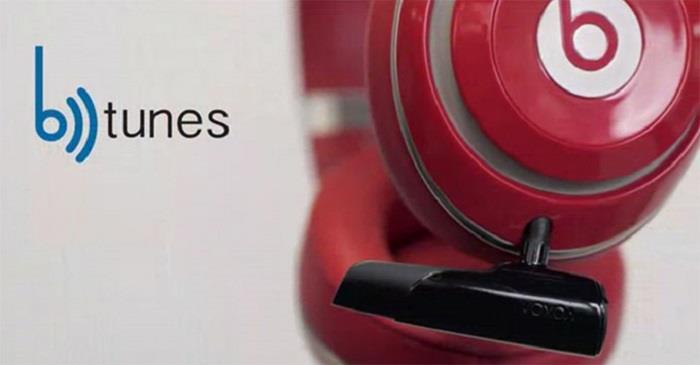 BTunes Bluetooth headphone adapter: беспроводная замена провода для наушников от VOXOA