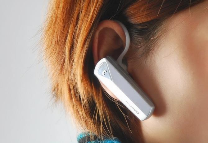 Bluetooth гарнитура Lenovo lbh505