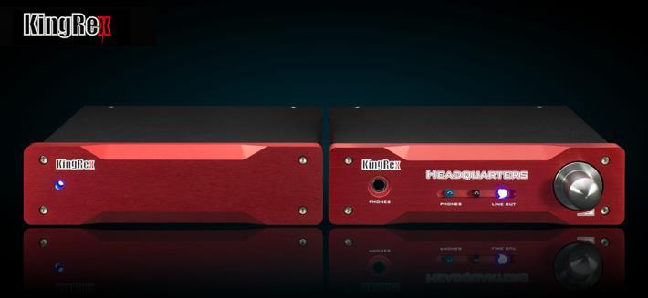 Усилитель для наушников KingRex HQ-1. Звуковой блокбастер