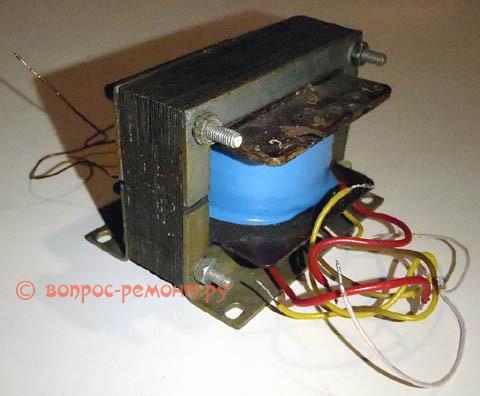 Самодельный выходной трансформатор звуковой частоты
