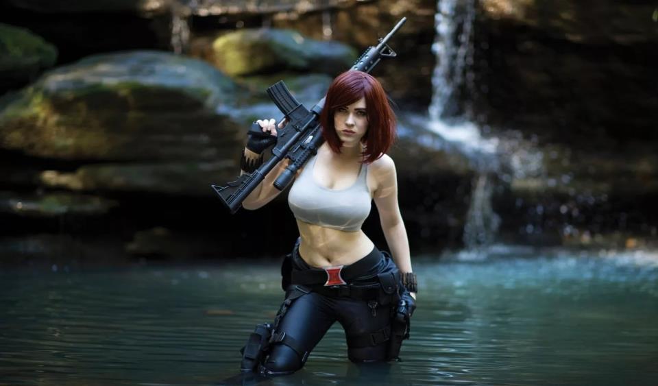 девушка с оружием13