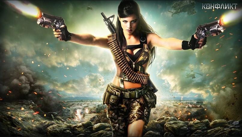 девушка с оружием41