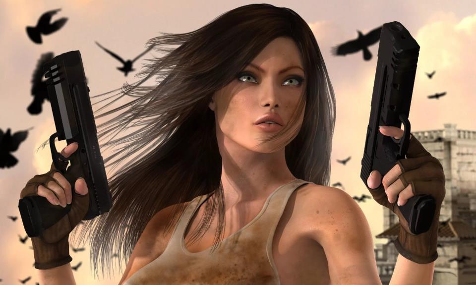 девушка с оружием61