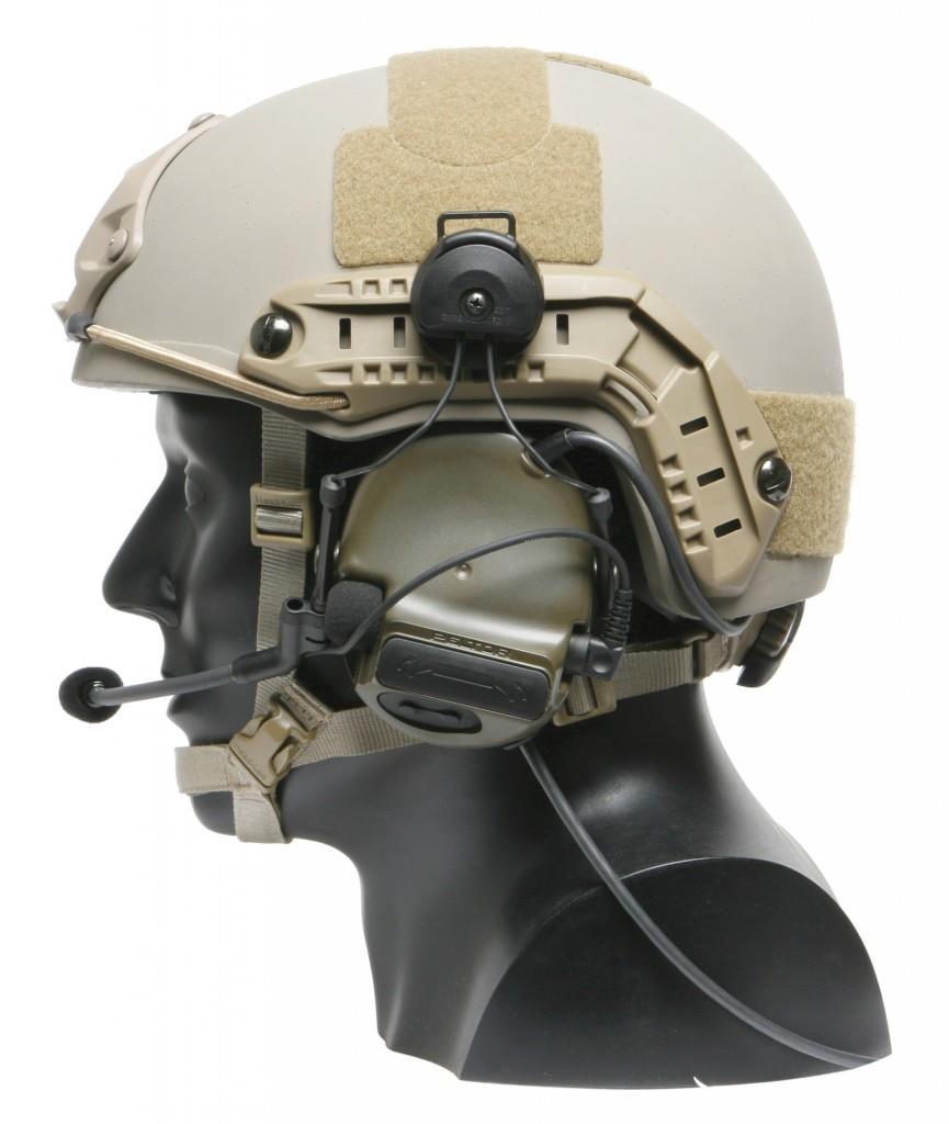Активные наушники Peltor с креплением к шлему MICH
