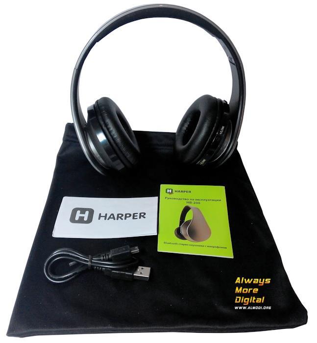 Комплектация Harper HB-200