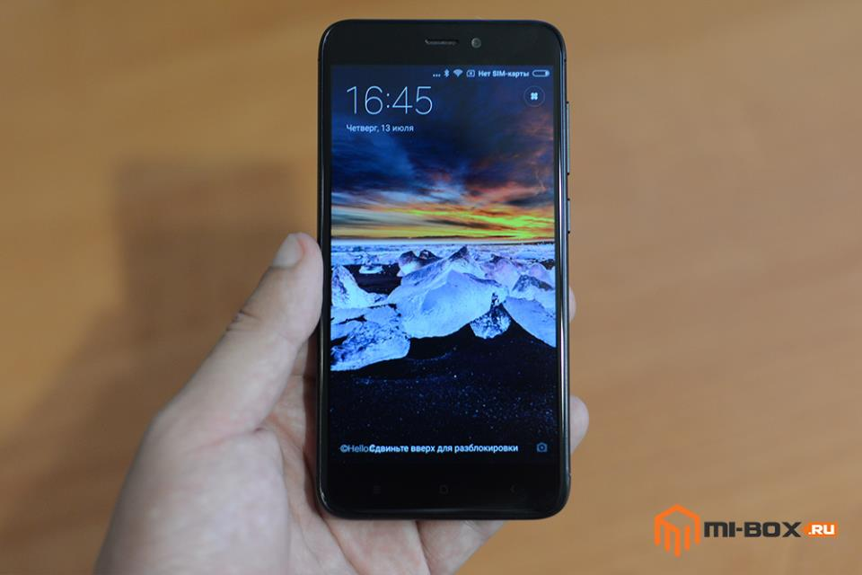 Обзор смартфона Xiaomi Redmi 4x - дисплей и внешний вид