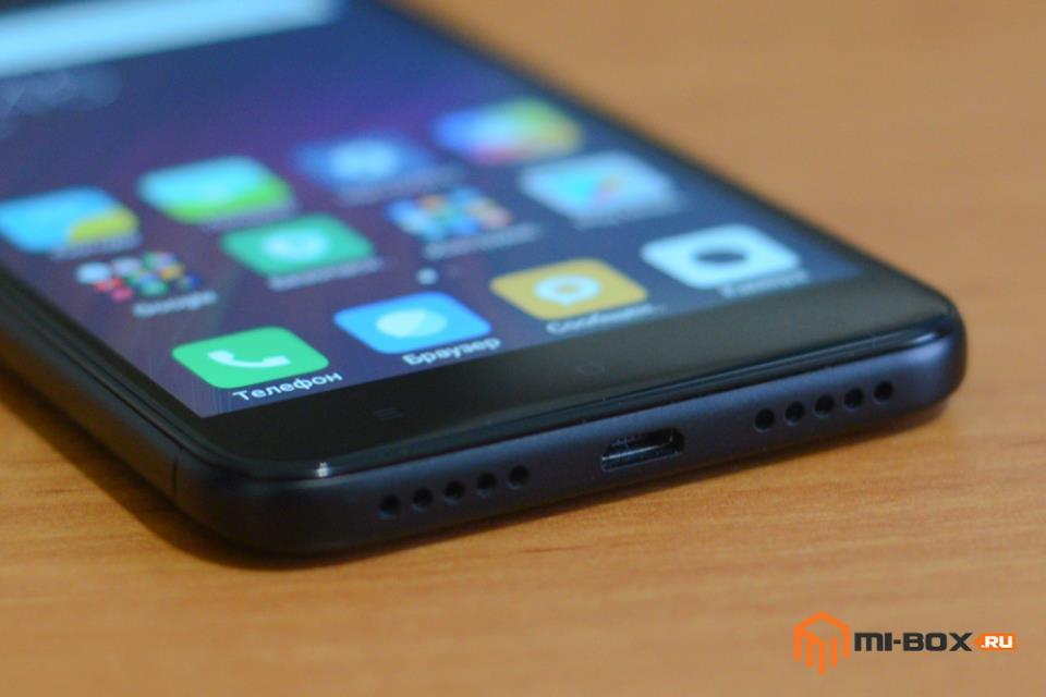 Обзор смартфона Xiaomi Redmi 4x - нижняя грань