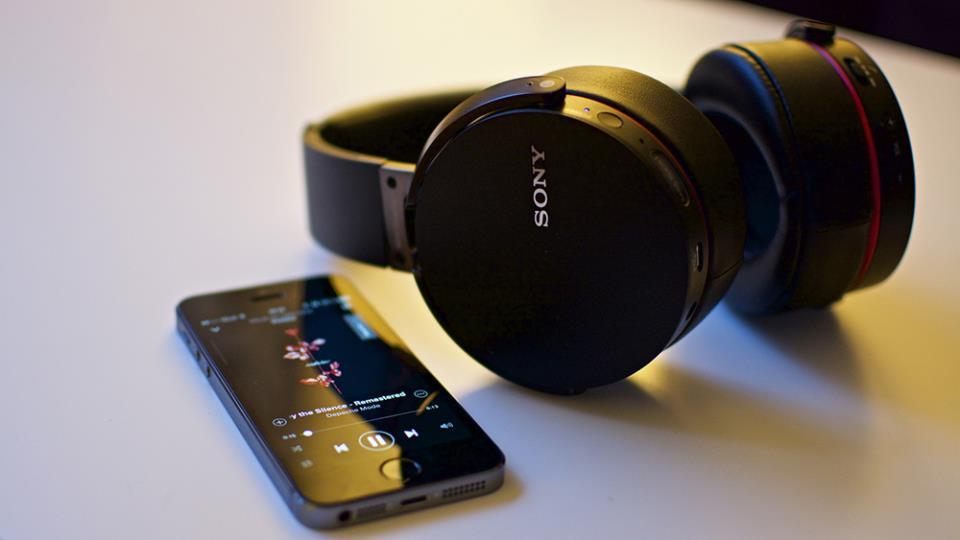 Беспроводные наушники Sony MDR