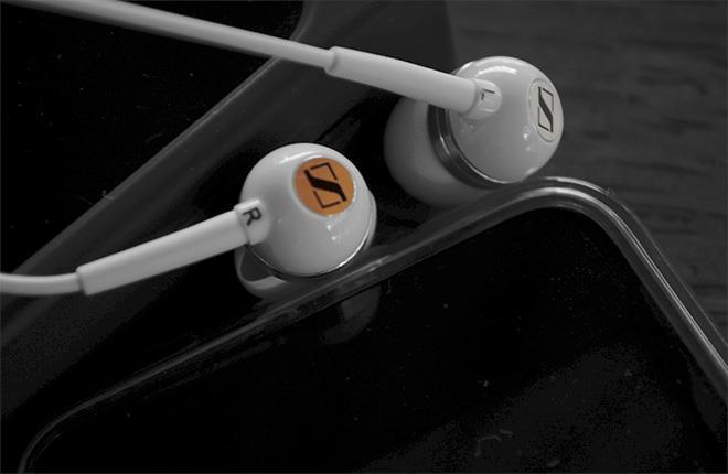 Наушники затычки Sennheiser CX 400-II Precision белые