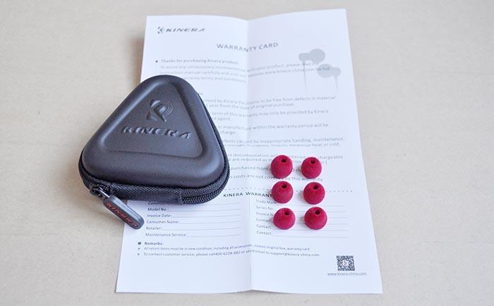 Обзор наушников Kinera YT-BAS03 комплект