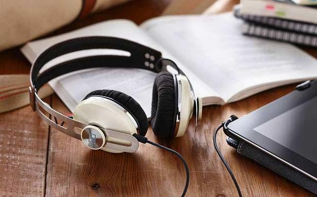 Прослушивание музыки на планшете