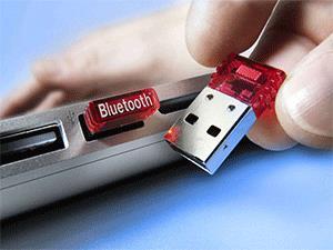 Подключение Bluetooth-адаптера