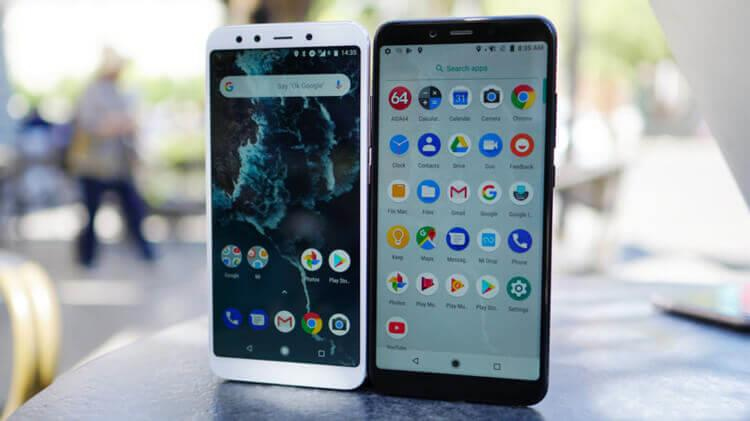 Xiaomi Mi A2 белый и черный