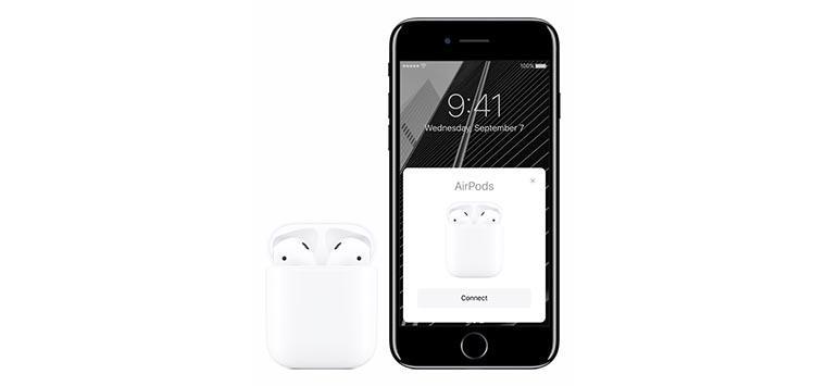 Apple AirPods.Мгновенное подключение