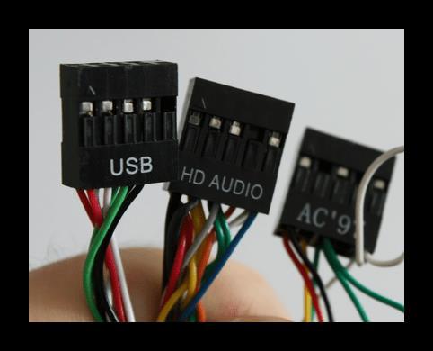 Аудио и USB кабели