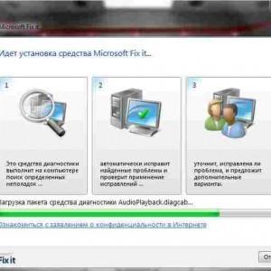 установка Microsoft Fixit