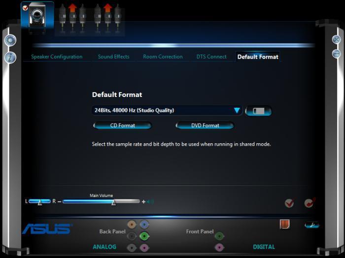 Диспетчер Realtek HD...