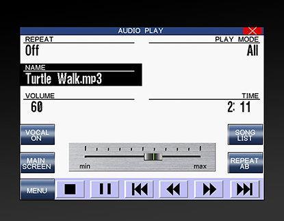 Kawai - проигрывание MP3-файлов