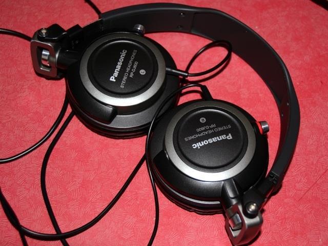Наушники Panasonic RP-DJ600 в сложенном виде