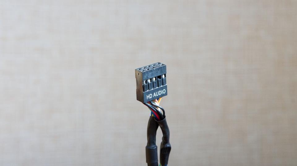 HD Audio коннектор для подключения наушников с передней панели компьютера