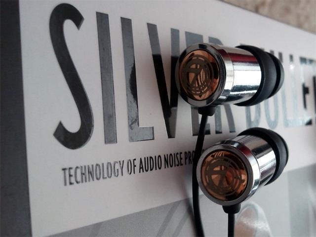 Наушники Fischer Audio Silver Bullet