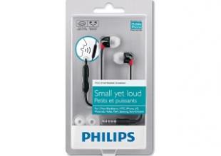 Упаковка наушников Philips SHE3580