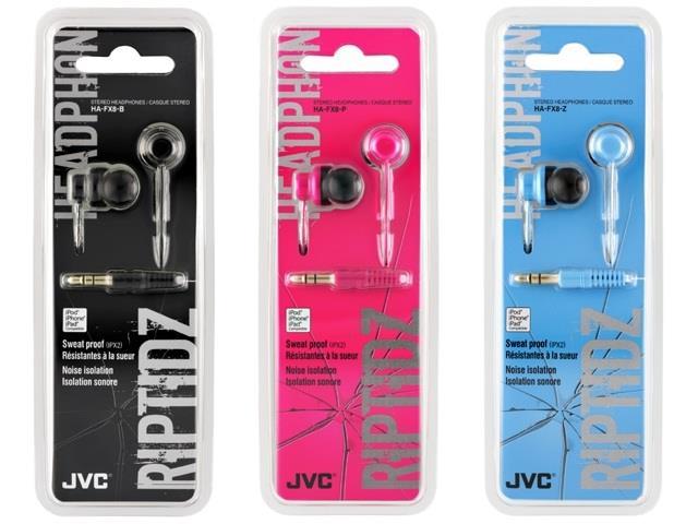 Вставные наушники JVC Riptidz HA-FX8