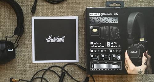 комплект беспроводных наушников Marshall Major II bluetooth