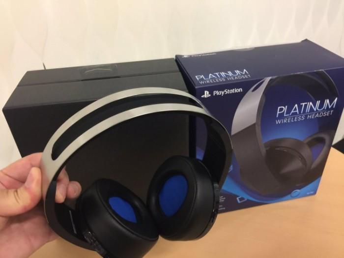 Наушники Sony Platinum Wireless Headset 7.1