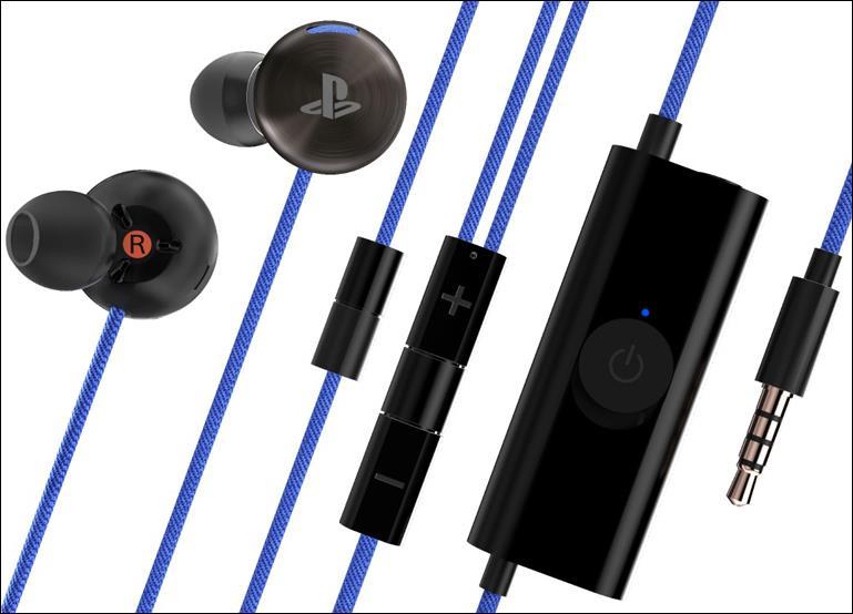 Наушники Sony In-Ear Stereo Headset для PS4
