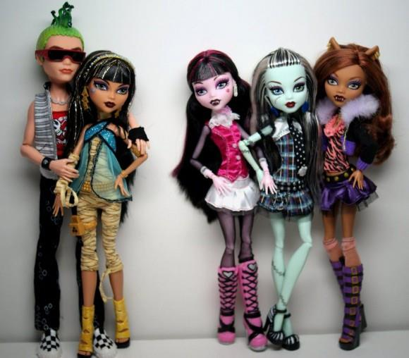 куклы монстер хай2