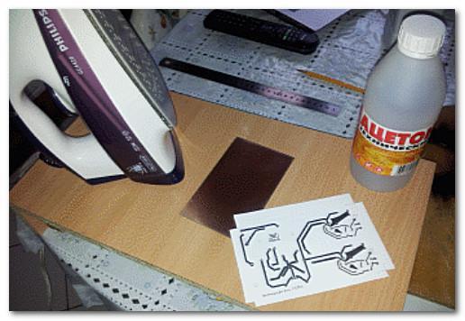 Изготовление печатной платы методом ЛУТ
