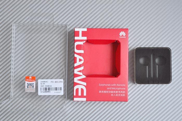 Обзор гарнитуры Huawei AM116 упаковка