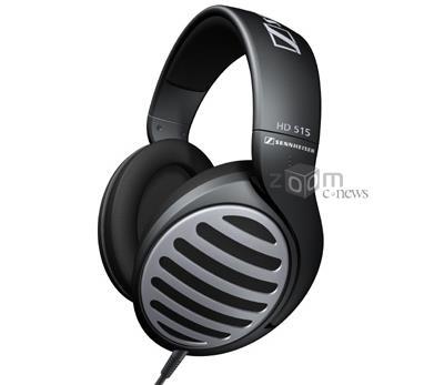 Наушники Sennheiser HD515 - классические мониторные наушники с открытым акустическим оформлением