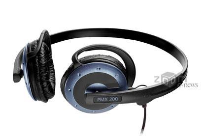 Удобные и доступные накладные наушники Sennheiser PMX200