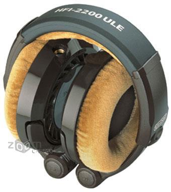 Открытые мониторные наушники Grado HFI-2200 ULE со складной конструкцией удобны в транспортировке и обеспечивают своего владельца непревзойденным звуком