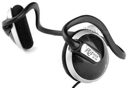 Классические накладные наушники Ritmix RH-322 удобно сидят на голове, но звукоизоляция у них практически отсутствует