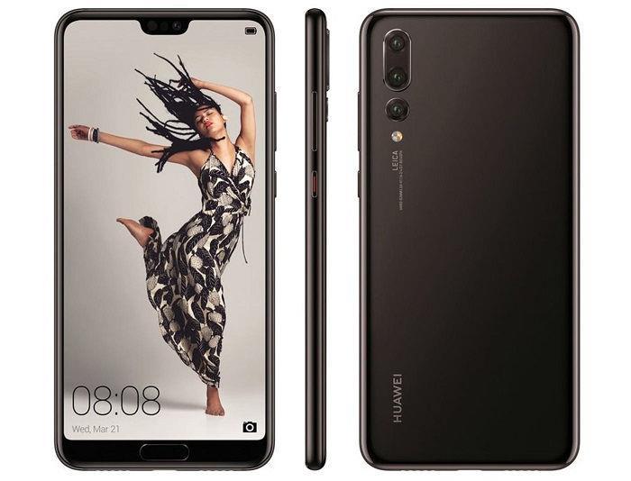 Дизайн Huawei P20 Pro