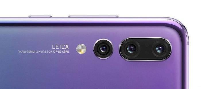 Камеры Huawei P20 Pro