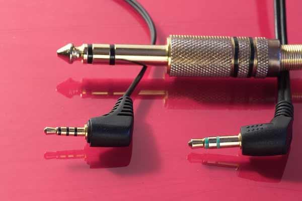 Head-phones stereo jack