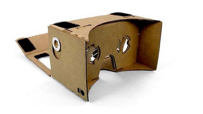 шлем виртуальной реальности Google Cardboard