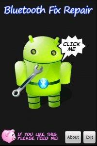 Зеленый робот-андроид