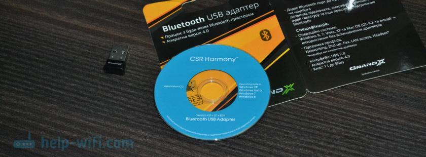 Драйвер для Bluetooth адаптера