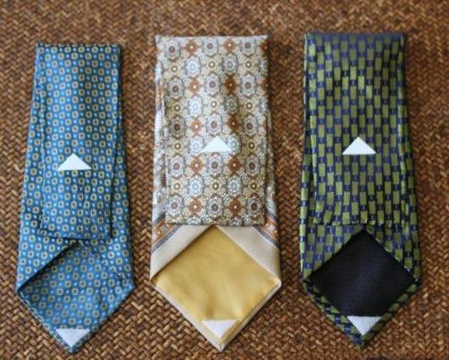 чехол из галстуков