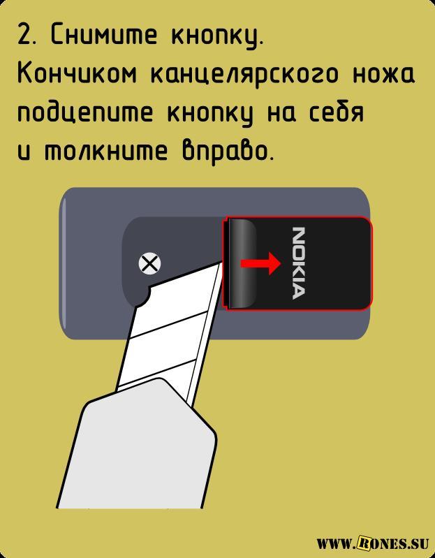 Как разобрать Nokia HS-47