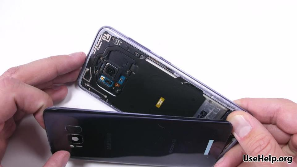 разобрать Samsung Galaxy S8